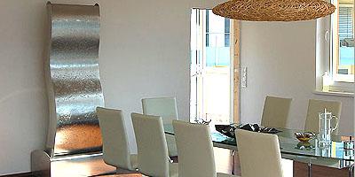 Edelstahlbrunnen zimmerbrunnen von hinger home design - Zimmerbrunnen modern ...